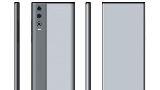 خلاقیت در ابداع گوشی هوآوی با صفحه نمایش دوطرفه