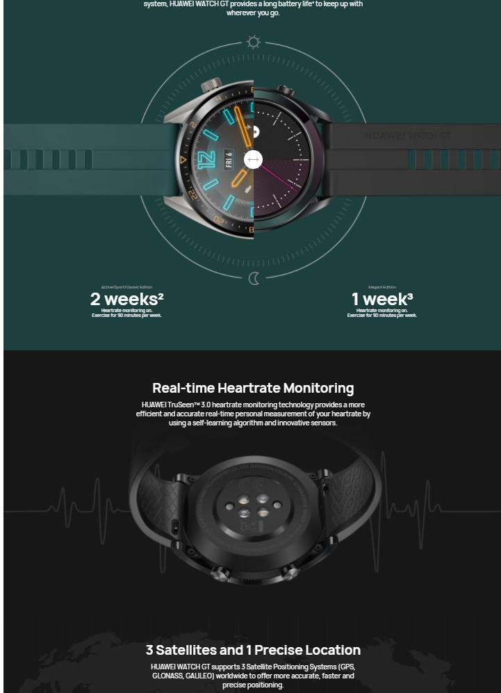 ساعت هوشمند هوآوی gt2
