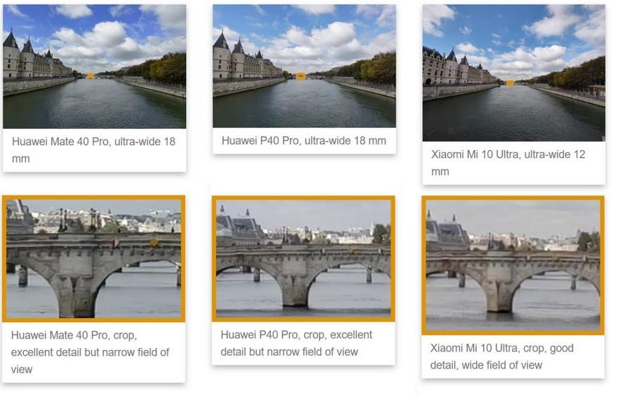 مقایسه دوربین هواوی میت 40 پرو با هواوی پی 40 پرو