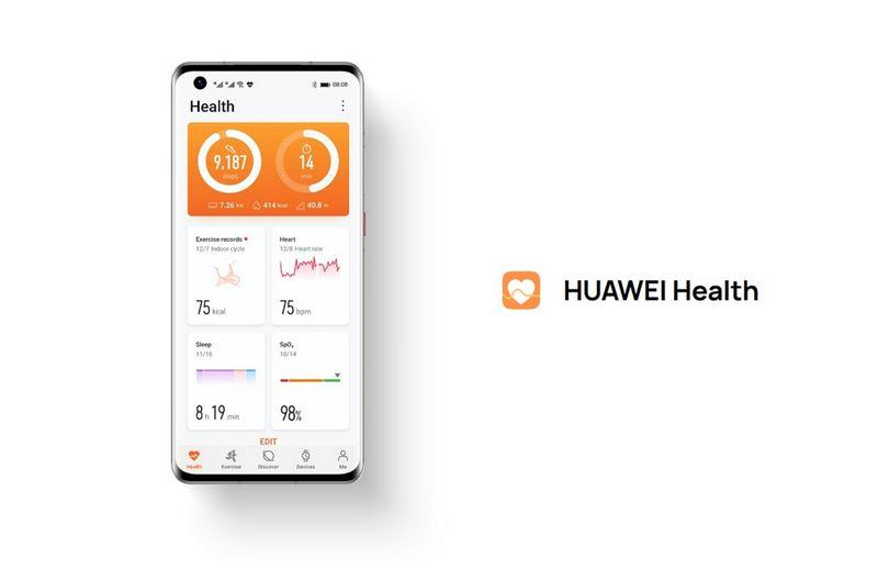 نرم افزار HUAWEI Health