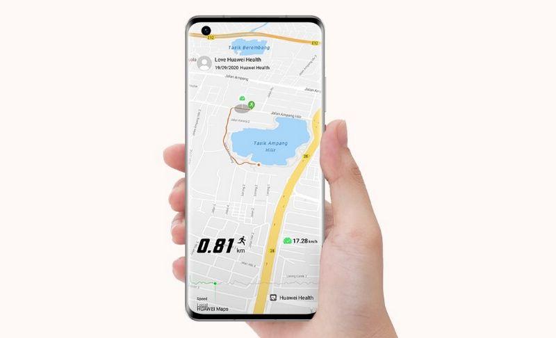 برنامه Huawei Health برای iOS