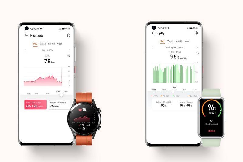 برنامه Huawei Health برای اندروید