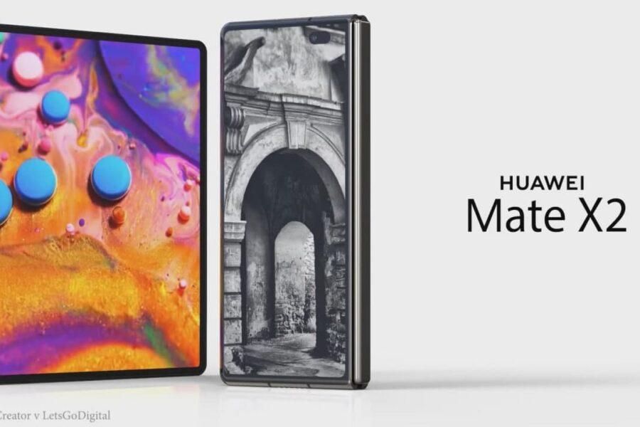 گوشی هواوی Mate X2 به طور رسمی معرفی شد؛ اولین تاشوی جهان با قابلیت 5G