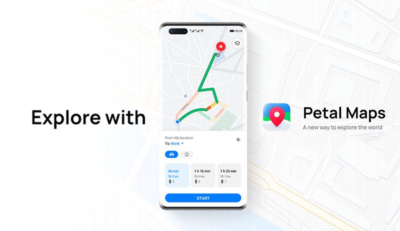 همه چیز درباره Petal Maps ؛ نقشه و مسیریاب اختصاصی هواوی با قابلیتهای کارآمد