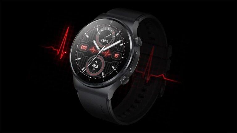 چگونه با ساعت هوشمند هواوی نوار قلب (ECG) بگیریم